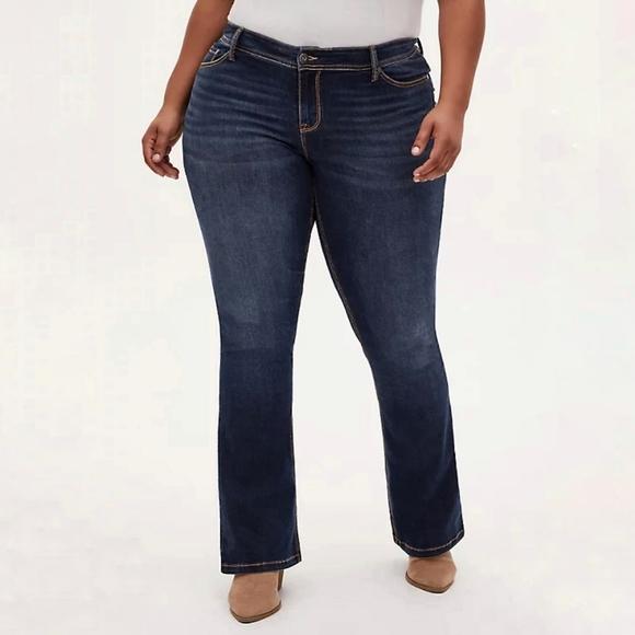 Torrid Denim Slim Boot Medium Wash Jeans